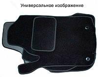 Коврики текстильные Toyota Land Cruiser 80 Ciak увеличенные черные