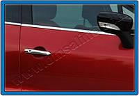 Накладки на ручки Renault Laguna III Coupe (2010-) 2-дверн. нерж. Omsa