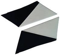 Накладки задних стоек Лопухи ВАЗ 2101 - 2107 белые