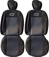 Чехлы на сидения Kia Ceed 2006-2012 (низ цельный) (Prestige)