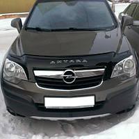 Дефлектор капота, мухобойка Opel Antara с 2007 г.в. VIP