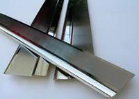 Накладки на пороги Honda Civic IX 4D 2012- Nataniko Premium