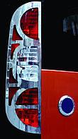 Накладка на стопы Fiat Doblo (2006-2010) 2 шт (нерж.) Omsa