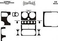 Декоративные накладки на панель Citroen Berlingo (2002-2008) Meric
