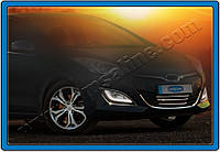 Накладка на передний бампер Hyundai i30 HB 5D Style (2012-) (нерж.) 4 шт