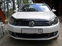 Дефлектор капота, мухобойка Volkswagen GOLF VI 2009- SIM