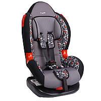 Детское авто кресло SIGER ART Кокон алфавит, 1-7 лет, 9-25 кг, группа 1-2