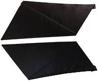 Накладки задних стоек Лопухи ВАЗ 2101 - 2107 черные