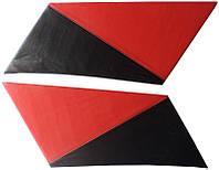 Накладки задних стоек Лопухи ВАЗ 2101 - 2107 красные