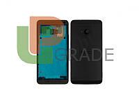 Задняя крышка HTC 801e One M7/801n, черная