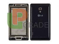Задняя крышка LG P710 Optimus L7 II/P713, синяя