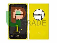 Корпус Nokia 1020 Lumia (RM-875), желтый, оригинал (Китай)