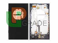 Корпус Nokia 1020 Lumia (RM-875), черный, оригинал (Китай)