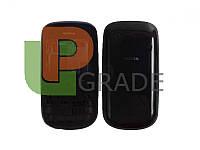 Корпус Nokia 202 Asha, черный