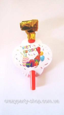 Дудочка-язычок  праздничный День рождения