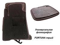 Коврики текстильные Ваз 2110, 2111, 2112 Fortuna серые