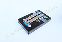 Накладки на ручки Opel Astra H HB 3D (2004-2009) 2-дверн.с рельефом нерж. Omsa