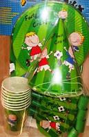 Набор праздничной посуды и атрибутов Футбол