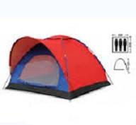 Палатка 3-х местная (р-р 2,0*2,0*1,35м, PL)