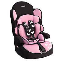 Детское авто кресло SIGER Драйв фиолетовый 1-12 лет 9-36 кг группа 1-2-3