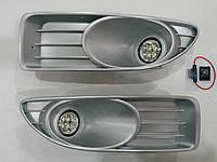 Дополнительные светодиодные фары Fiat Linea 2012- LED G-plast