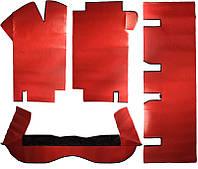 Декоративное покрытие пола ВАЗ 2108 - 21099 красное