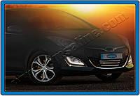 Накладка на передний бампер Hyundai i30 SW (2012-) (нерж.) 4 шт