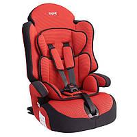 Детское авто кресло SIGER ПРАЙМ Изофикс группа 1-2-3 (красный)