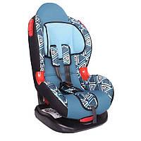 Детское авто кресло SIGER ART Кокон геометрия, 1-7 лет, 9-25 кг, группа 1-2