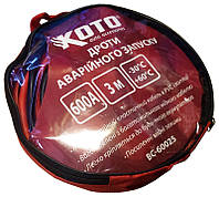 Провода прикуривания Koto BC-60025 600A 3м