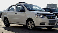 Дефлектор капота, мухобойка Chevrolet AVEO 03-11 ЗАЗ Вида SD 11- темный SIM