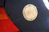 Накладка на лючок бензобака Volkswagen Golf HB 5D (1998-2004) (нерж.) Omsa