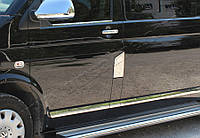 Накладка на лючок бензобака Volkswagen T5 Transporter (2010-) (нерж.) Omsa