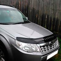 Дефлектор капота, мухобойка Subaru Forester 2008-2012 VIP