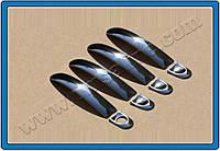 Накладки на ручки Volkswagen Touareg (2010-) 4-дверн.(Deco) нерж. Omsa