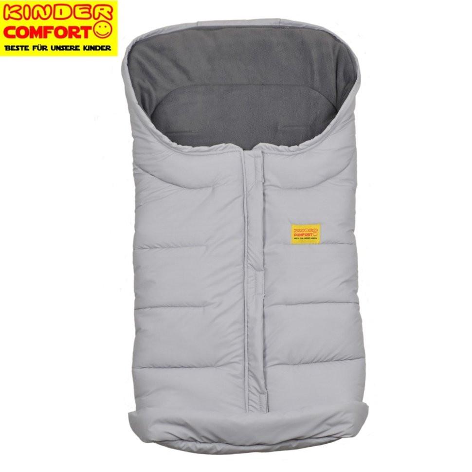 Флисовый конверт в коляску и санки Vlies (Серый), Kinder Comfort