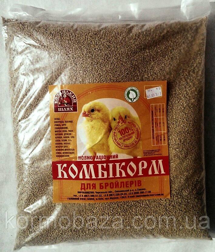 Комбикорм для бройлеров  старт Козацький Шлях 5-4 (11-30день)
