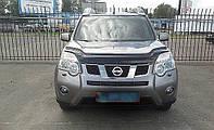 Дефлектор капота, мухобойка Nissan X-Trail с 2007- г.в.кузов Т-31 VIP