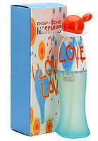Женская туалетная вода Moschino Cheap And Chic I Love Love 100 ml.( TESTER )LUX -Лицензия
