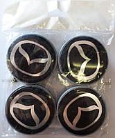 Заглушки дисков 55мм Mazda