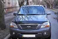Дефлектор капота, мухобойка KIA Sorento 2003-2008 SIM