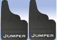 Бризговики Citroen Jumper 2007- прямые (2шт)