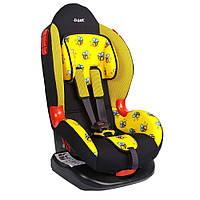 Детское авто кресло SIGER ART Кокон пчелка, 1-7 лет, 9-25 кг, группа 1-2