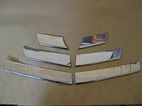 Накладки на решетку Renault, Dacia Sandero (2007-2013) нерж. carmos