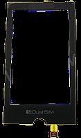 Тачскрин (сенсор) LG GX500, black (черный)