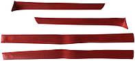 Накладки стоек передние ВАЗ 2101 - 2107 красные