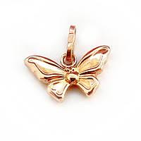 Подвеска Золотая бабочка