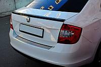 Спойлер крышки багажника Skoda Rapid 2012- AutoPlast