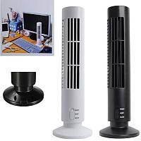 Портативный Вентилятор Tower Fan USB для дома  и офиса