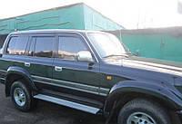 Дефлекторы окон, ветровики TOYOTA Land Cruiser 80 1989-1998, Lexus LX (FZJ80) 1996-1997 Cobra
